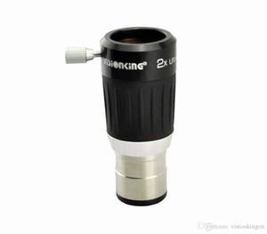 Visionking de Alta Qualidade 2x 4-Barlow Lens Barato 1.25 '' Telescópio Ocular Corpo de Metal Boa Frete Grátis
