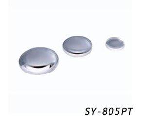 SY-805PT Lentille convexe plane en verre de quartz, Lentille optique, Lentille convexe plate, dia: 12.7mm, f: 38.1mm