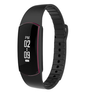New SH09 Bluetooth 4.0 Smart Band Bracelet Pulse Heart Rate Monitor Waterproof Smart Wristband Fitness Tracker for Android iOS