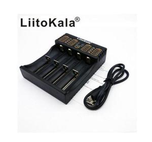 2017 100% original Liitokala Lii-402 18650 Cargador 1,2 V 3,7 V 3,2 V AA / AAA 26650 18350 14500 16340 LiFePO4 Ni-MH Ni-cd de Rechareable de Bate