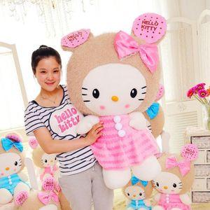 핫 세일 러블리 키티 고양이 인형 봉제 장난감 쿠키 인형 동물의 발렌타인 데이 선물 인형
