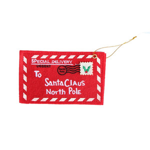 Red Christmas Envelope Christmas Greeting Cards Candy Bag Perfect Christmas Gifts For Friends Christmas Supplies WA1018