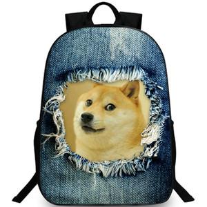 Zaino doge Kabosu dog daypack Shiba razza zaino standard Zaino per il tempo libero Zaino sportivo Zaino da montagna per esterni