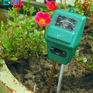 Garden Plant Flower 3 in 1 PH Tester Soil Water Moisture Light Test sensor Meter Y628