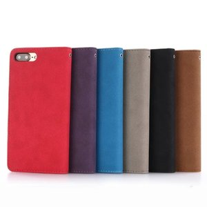 Multifunction Wallet Flip Leather Pouch Case For Iphone7 Iphone 7 Plus 7G 7plus Matte Card Slot Photo 2 IN 1 Detachable Money Magnetic Cover