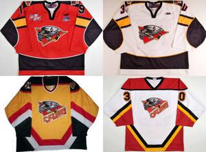 Günstige 2016 neue top-qualität maßgeschneiderte Cincinnati Cyclones 100% Gestickte logos Eishockey trikots benutzerdefinierte Jeder name Keine NEIN. Mischauftrag