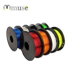Filament en plastique 3D flexible de la bobine 1.75mm TPU de NW 0.8kg pour l'imprimante 3D