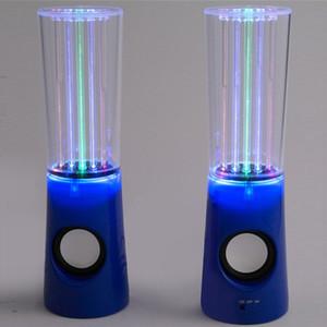 Танцующий Водяной Динамик Активный Портативный USB LED Light Speaker для iPhone iPad ПК 4 Цвета Сабвуфер Колонка Воды Аудио