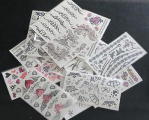 30Pcs 9.5*17cm временные татуировки лица татуировки тела наклейки смешанного типа губы тела временные татуировки