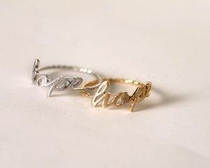 """Schwimmende Charme populäre Schmuck Mode Ring Zeichnung Briefe, """"Hape"""" glücklich Homophony Ring für Frauen, wholesale freies Verschiffen"""
