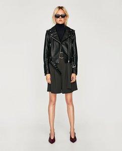 Kadınlar Kış bayanlar tüvit Peluş deri ceket Lüks moda marka fermuar en kaliteli Yaka Omuz Kemer Terlik Yastık Deri Ceket