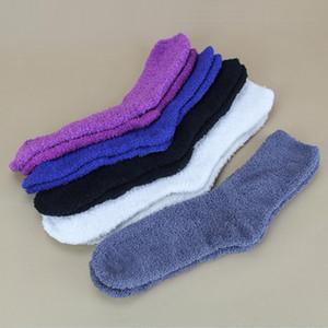 All'ingrosso-2016 autunno inverno moda uomo / donne calzini pavimento al coperto morbidi casuali calzini caldi per uomo / donna signore pantofole accoglienti calzino XP15