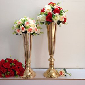 الذهب الحديد chorme العقلية زهرة الوقوف ، زهرة عرض موقف ، ترتيب زهرة تقف للزينة الزفاف