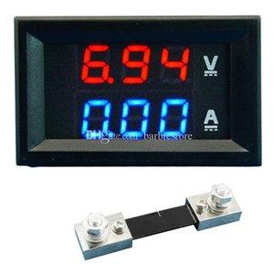 Çift LED DC Dijital Ekran Ampermetre Voltmetre LCD Paneli Amp Volt 100A 100 V B00328 OSTH