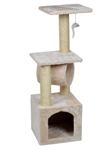 "Deluxe Cat Tree 36 ""Condo Furniture Scratching Post Kitten Pet Play Casa de juguete"