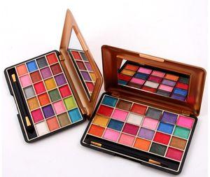 Miss Rose 24 colores Shimmer mate paleta de sombra de ojos profesional sombra de ojos paleta de maquillaje Natural Eye Cosmetic