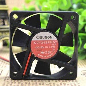 SUNON KD1206PHS2 12V 1.1W 6CM 60 * 60 * 15 ventilateur ultra silencieux d'alimentation du châssis