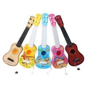 الملونة الصوتية 4 سلسلة مصغرة الزيزفون القيثارة الموسيقية لعبة تعلم ألعاب تعليمية الموسيقى للأطفال