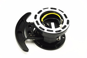 Universal Flip Up Tilt Style Ball Lock Car System Steering Wheel Hub Quick Release Adapter Snap Off Boss kit