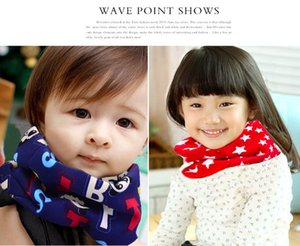 2018 Direct Selling Unisex As Picture Ring Cotton Blends Top Quality Baby Bib Collar Scarf All-match Children Warm Winter Wholesale