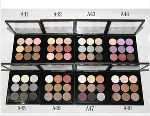 free shipping 2019 hot new Arrivals high quality makeup 9 color eyeshadow palette (40Pieces Lot)2019