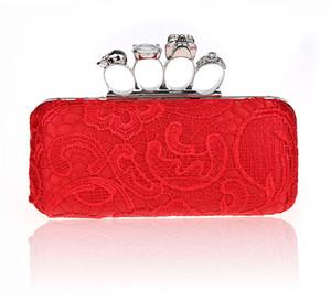 Frauen Handtasche Damen Abendtasche für Party Tageskupplungen Knuckle Boxed Clutch Kristall Clutch Cvening Tasche für Hochzeiten HQB1716
