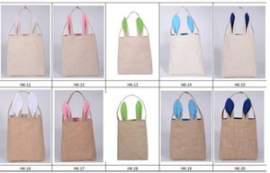 Cute Gift Easter Easter Bunny Ears For Linen Basket And Gift Child Festival Handbag For Packing Cotton Bag Fine Jkxda