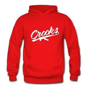 New fashion 2017 fall men's hip hop hoodie Crooks and Castles hooded long sleeve autumn casual tops sweatshirt for men