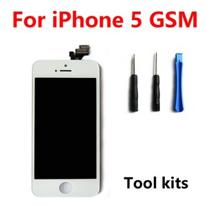 ITander 1PCS Free shipping iPhone 5G Replacement LCD Touch Screen Digitizer Full Assembly Repair Parts with InstallationTools (White)