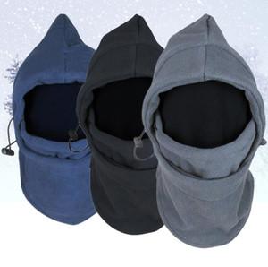 Chegada Nova Máscara Facial térmica à prova de vento e à prova de areia-Bujão Chapéus velo Balaclava capa Swat bicicleta Caps Skullies Gorros