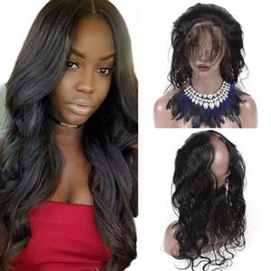 인간의 머리카락 레이스 정면 처리되지 않은 바디 웨이브 360 레이스 정면 브라질의 버진 머리 360 정면 무료 8 ~ 22 인치 자연 색상