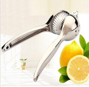 1 pcs Alta Qualidade 304 Aço Inoxidável Manual de Frutas Juicer Limão Alarme Espremedor De Laranja Mão Manual de Imprensa Citrus Juicer Ferramentas YH060