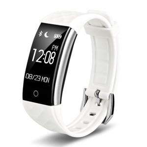 Inteligente banda Bluetooth S2 pulsera de monitor de ritmo cardíaco IP67 pulsera del perseguidor impermeable SmartBand Actividad Para Android IOS VS Fitbit Carga 2