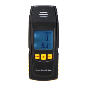 휴대용 핸드 헬드 일산화탄소 측정기 Freeshipping 고정밀 일산화탄소 가스 검출기 분석기 측정 범위 0-1000ppm detector de gas