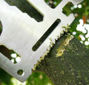 11 in 1 coltellino svizzero multifunzione in acciaio multifunzione campeggio strumento card knife coltello da esterno apribottiglie propotabe