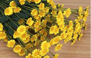 Daisy rural simulación de flores de crisantemo de seda artificial Gerbera boda jardín decorativo flores artificiales envío gratis SF011