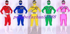 Hot Unisexe Superhero Costumes Outfit Nouveau 5 Couleur Lycra Spandex Superhero Costume Costumes Catsuit Halloween Party Fantaisie Robe Costume Costume P039