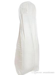 Livraison gratuite pas cher blanc respirant robe de mariée sac de vêtement de poussière pour bal / evning / parti / mère robe sacs accessoire de mariage nouvelle arrivée