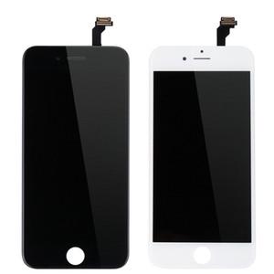 LCD-Anzeige für iphone 6 6S 7G 8G mit Noten-Digitizer komplettem Schirm mit Rahmen Vollversammlung Ersatzteile DHL Schiffs Schwarz / Weiß