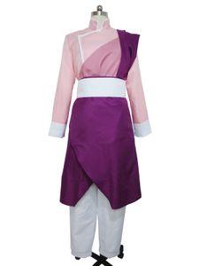 Fullmetal Alchemist Cosplay Maio Chang Pink Kung Fu traje uniforme