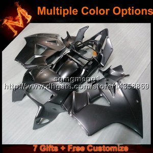 23colors+8Gifts ABS Fairing for Honda VFR800 1998-2001 black fairing VFR800 98 99 00 01
