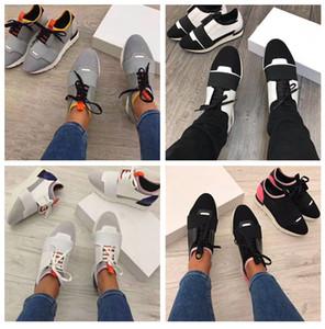 2020 Ayakkabı yarışı sneaker chaussure femme damla Kargo Moda Tasarımcısı Kadın Ayakkabı Erkek Casual Sneaker Yeni Deri Mesh Trainer ABD 5-12