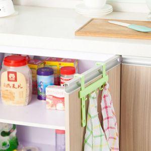 Hot Over Door Hooks Küchenschrank Handtuch zeichnen Kleidung Kleiderbügel Werkzeuge