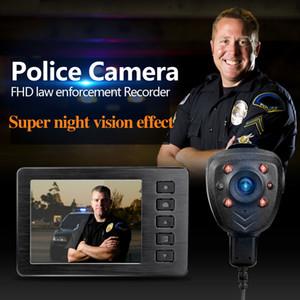 """1080 وعاء 2.7 """"شاشة lcd المحمولة hd للرؤية الليلية infrared الشرطة مصغرة dv الجسم البالية كاميرا dvr مع اجتماع الأشعة تحت الحمراء مسجل"""