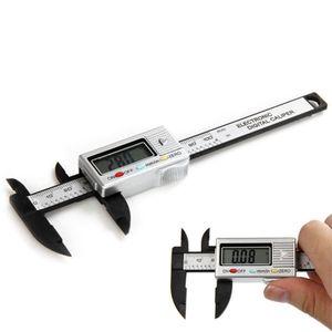 LCD gros-100mm électronique numérique Étrier fibre de carbone Étrier étanche numérique Paquimetro Messschieber Digitale Vernier Caliper
