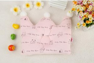 Baby Crown Pillow Baby Girl Boy Pillow Kids Pillow Infant Crown Pillow Baby pillow dimple pillow crown shape 0-2 years ZY001