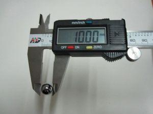 Diametro 10mm 10pcs / set della sfera d'acciaio della palla del cuscinetto a sfera del acciaio al cromo di 10mm Precisione: G10-Grade
