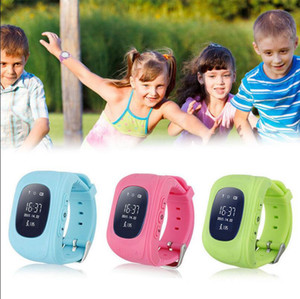 Q50 Kid Safe Smart Watch d'appel SOS Location Finder Locator Tracker enfant Anti perdu Moniteur Son bébé Wristwatch OOA3561
