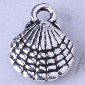Shell кулон DIY ювелирные изделия подходят браслеты или ожерелье сплава Античное серебро / бронза подвески 750 шт. / лот 96z