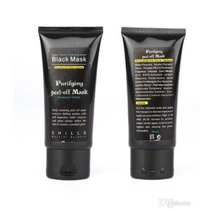 Blackhead Remover Deep Cleansing Purifying Peel Black Mud Face Mask SHILLS Deep Cleansing Peel Off Black Mud Mask